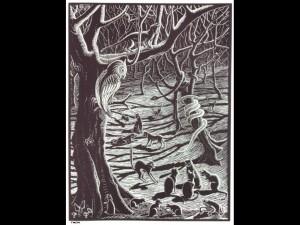 Ormen ugglan och trädet
